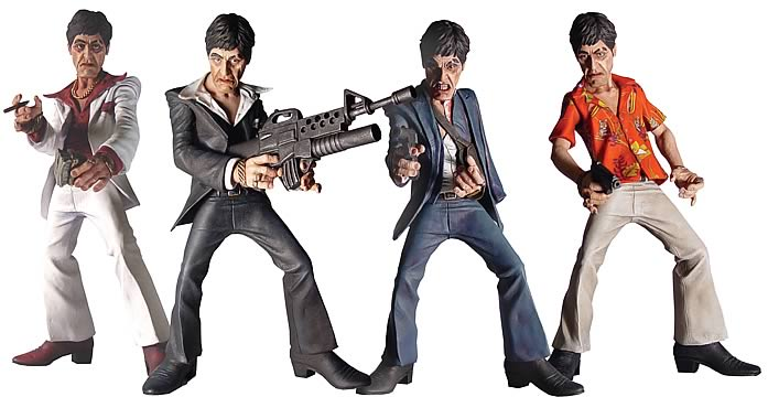 Scarface Action Figure Case