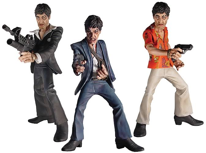 Scarface Action Figure 3-Pack