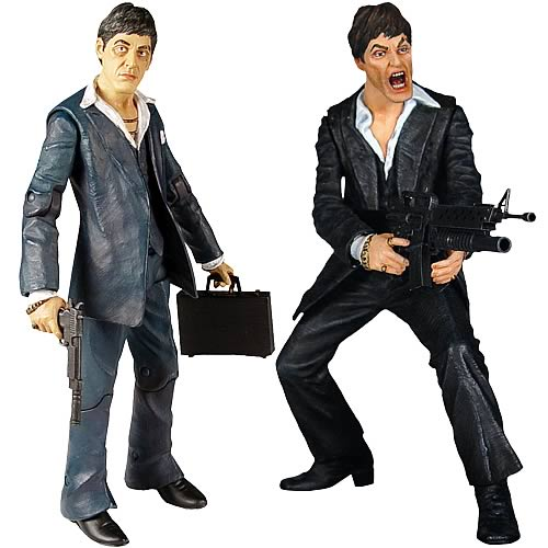 Scarface Realistic-Style Action Figure Set #2