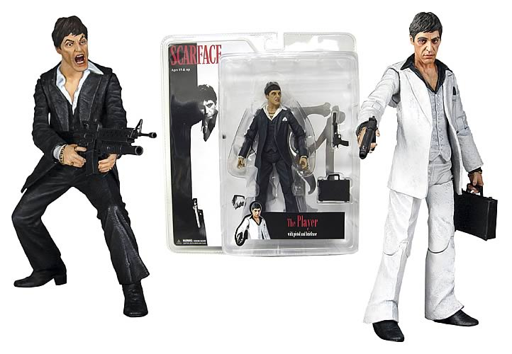 Scarface Realistic-Style Action Figure Case