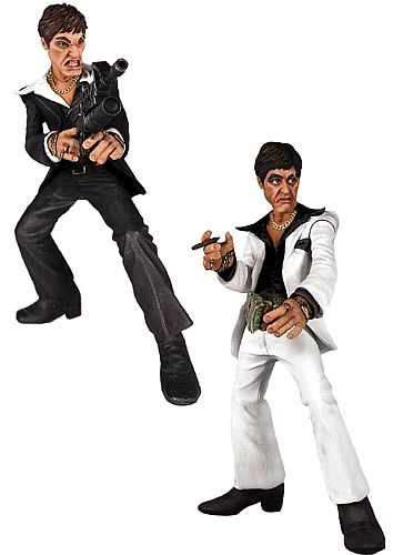Scarface Talking Rotocast Figure Case