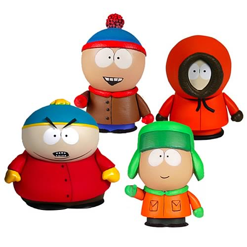 South Park Boys 3-Inch Action Figure Box Set