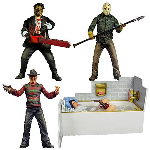 Cinema of Fear Series 2 Action Figure Set