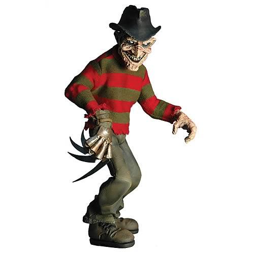 Cinema of Fear Freddy Krueger Stylized Rotocast Figure