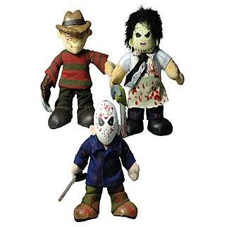 Cinema of Fear Mini Plush Set