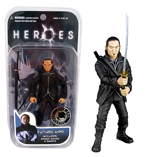 SDCC Exclusive Heroes Future Hiro Action Figure