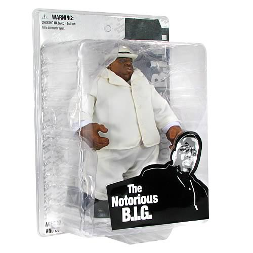 Notorious B.I.G. Deluxe Action Figure - White Outfit