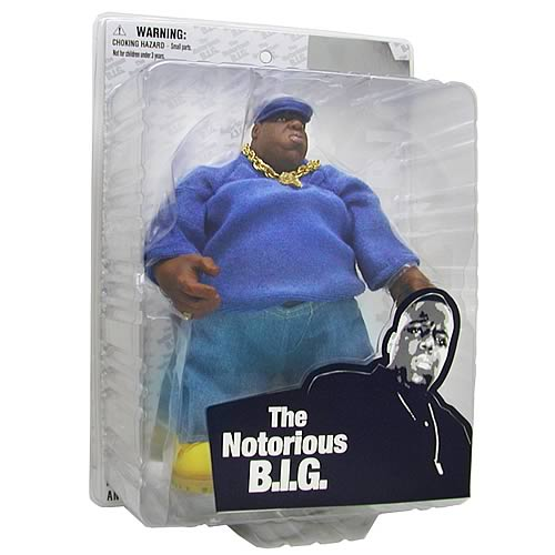 Notorious B.I.G. Deluxe Action Figure - Blue Outfit