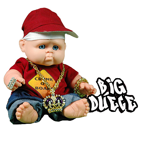 Gangsta Babies Big Deuce Doll