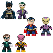 DC Universe Mini Mez-Itz 2-Pack Series 1 Figures Set