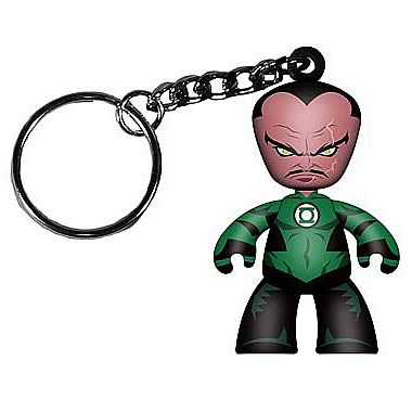 Green Lantern Movie Sinestro Mini Mez-Itz Key Chain