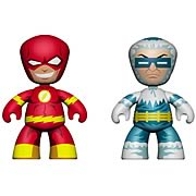 DC Universe Mini Mez-Itz Flash and Captain Cold Figures