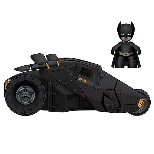 Batman Dark Knight Mini Mez-Itz Batman Figure and Tumbler