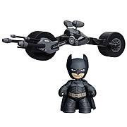 Batman Dark Knight Mini Mez-Itz Batman and Batpod Box Set
