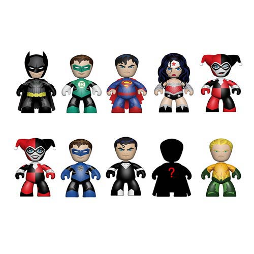 DC Universe Mini Mez-Itz 2-Inch Mini-Figure Display Box