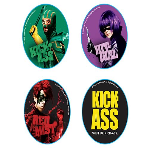 Kick-Ass Pin 4-Pack