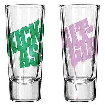 Kick-Ass Shot Glass 2-Pack