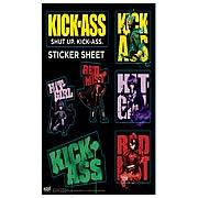 Kick-Ass Sticker Sheet