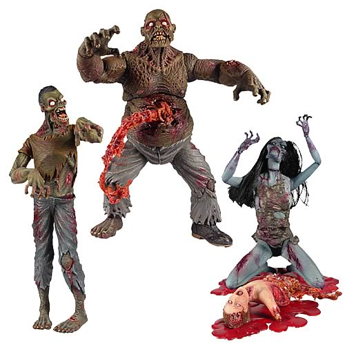 Attack of the Living Dead Zombies Wave 1 Set