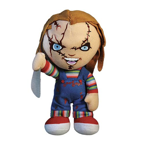 Child's Play Bride of Chucky Chucky 16-Inch Talking Plush