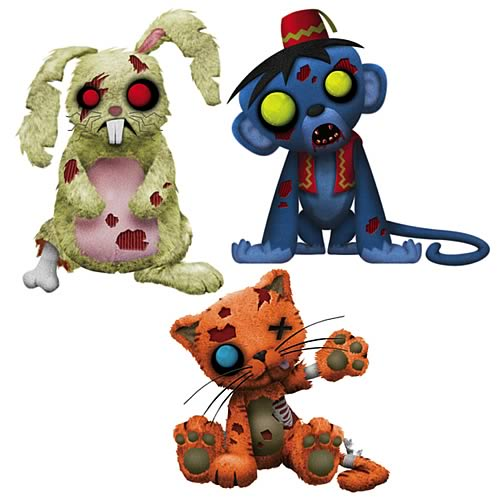Zombies Series 2 Creepy Cuddlers Plush Set