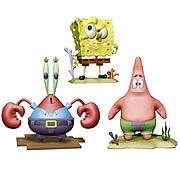 SpongeBob SquarePants 4-Inch Action Figure Series 1 Set