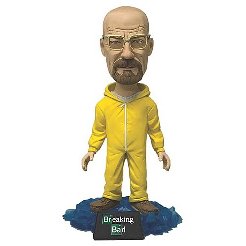 Breaking Bad Walter White in Hazmat Suit Bobble Head