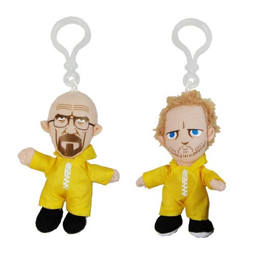 Breaking Bad Hazmat Suit Plush Key Chain Set