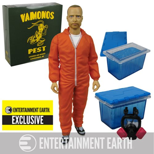 Breaking Bad Jesse Pinkman Orange Hazmat Figure EE Exclusive