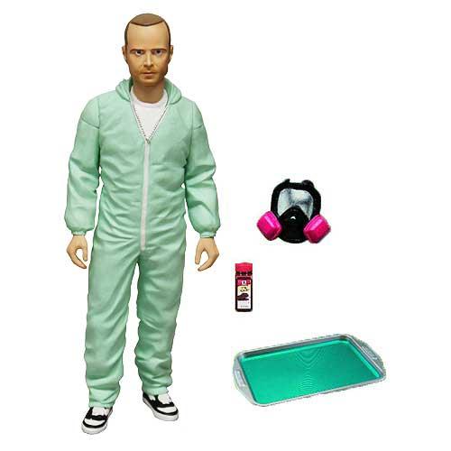 Breaking Bad Jesse Pinkman Blue Hazmat Suit 6-Inch Figure PX
