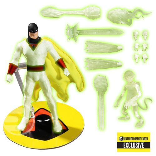 Space Ghost Glow-in-the-Dark One:12 Figure - EE Exclusive