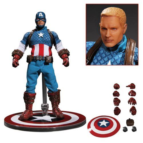 Captain America One:12 Collective Action Figure