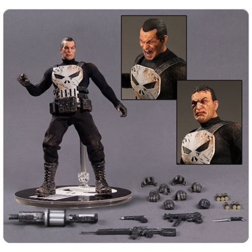 The Punisher Is Unleashed as 1:12 Collective