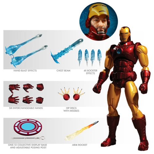 Iron Man One:12 Collective Action Figure