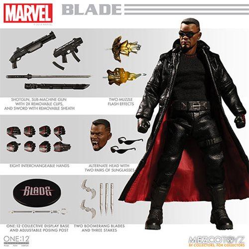 Картинки по запросу One:12 Collective Figures - Marvel - Blade