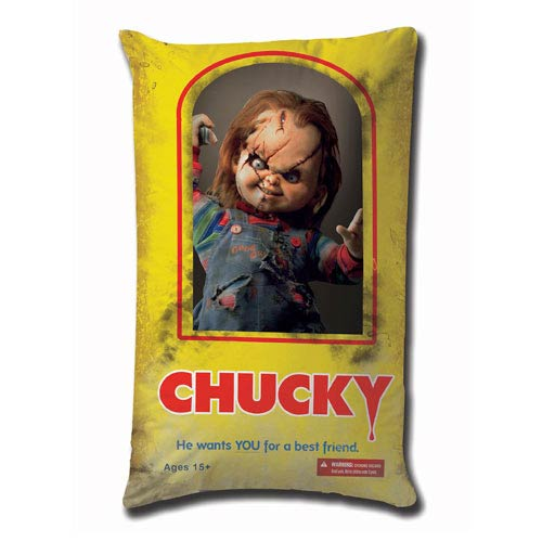 Child's Play Chucky Wants a Best Friend 19-Inch Plush Pillow