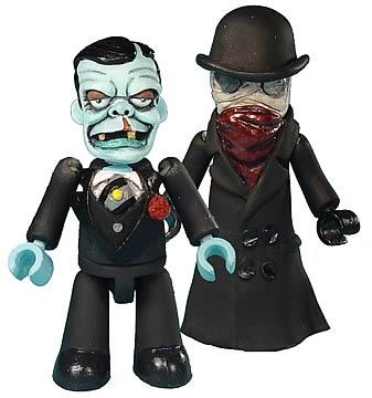 Monster Mez-itz Series 2 Invisible Man & Ghoul