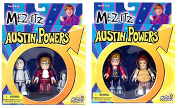 Austin Powers Minis Sets 1 & 2