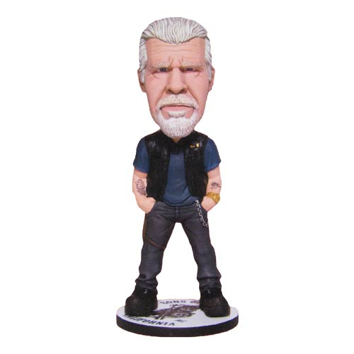 Sons of Anarchy Clay Morrow 6-Inch Bobble Head, Not Mint