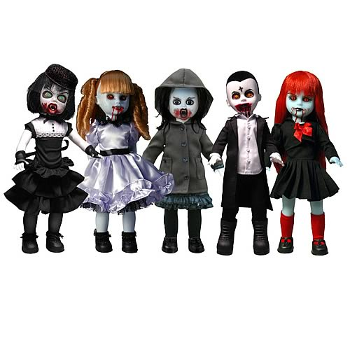 Living Dead Dolls Series 19 Vampires Case