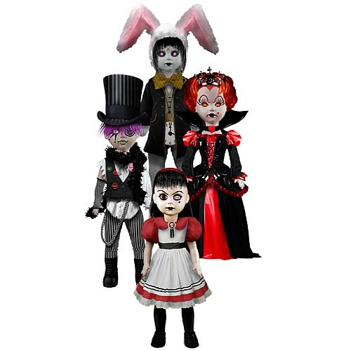 Living Dead Dolls Alice in Wonderland Dolls Set