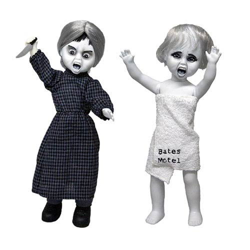 Living Dead Dolls Psycho Norman and Marion Doll Set