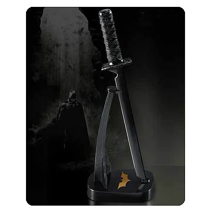 Batman Begins Batman's Ninja Sword Letter Opener with Stand