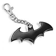 Batman Black Symbol Key Chain