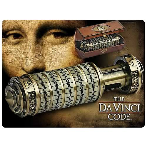 The Da Vinci Code Cryptex Prop Replica