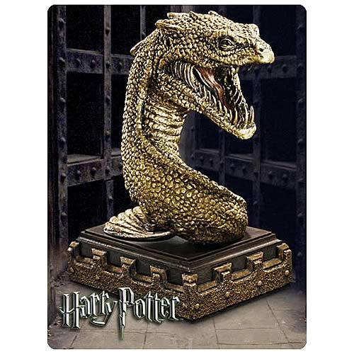 Harry Potter Basilisk Bookend Sculpture
