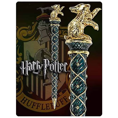 Harry Potter Hogwarts Hufflepuff House Pen