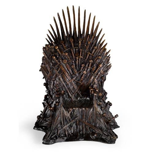 Game Of Thrones The Iron Throne Miniature Bronze Replica