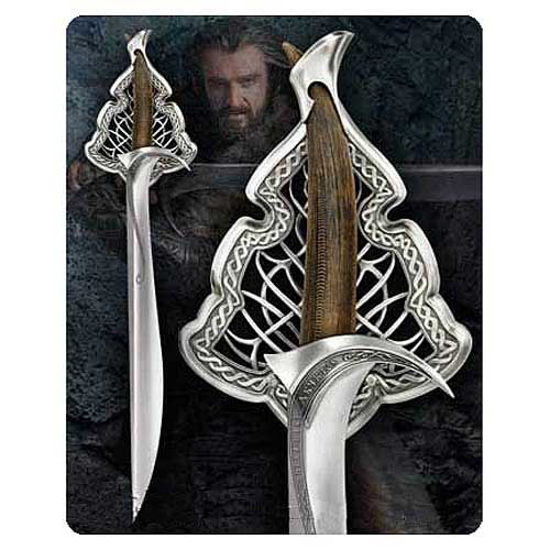 The Hobbit Thorin Oakenshield Orcrist Sword Prop Replica