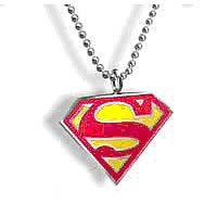 Superman Emblem Pendant